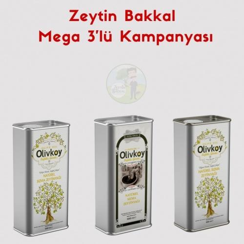 Zeytin Bakkal Mega 3'lü Kampanyası