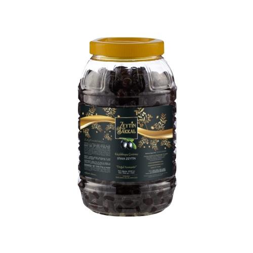 Küçükkuyu Siyah Çevirme Zeytin - 1600 Gr